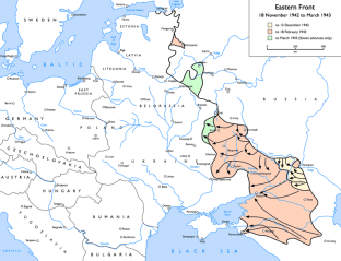 Eastern Front ….November-1942 to March-1943