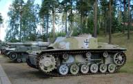 Sturmgeschütz III Ausf. G, on display at the Parola Tank Museum - Finland.