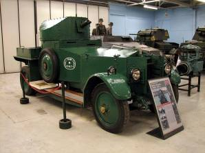 Rolls Royce 1920 Mk 1 at the The Bovington Tank Museum - England.