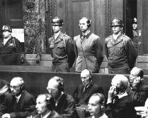 Brandt on trial, August 20, 1947.