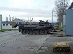 "Armoured engineering vehicle ""Dachs"" (Badger) German Army."