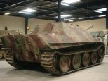 Jagdpanther at the Musée des Blindés - Tank Museum - France.