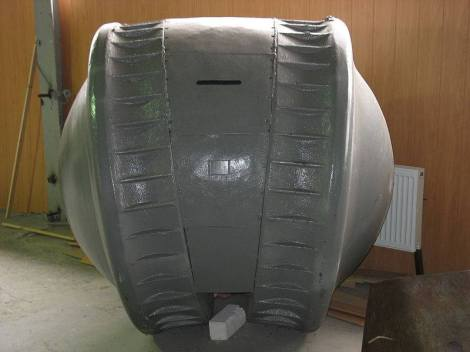"""The Kugelpanzer (literally translates as """"spherical tank"""") was a prototype reconnaissance tank built by Nazi Germany during World War II. It was one of the most unusual armoured fighting vehicles ever built."""