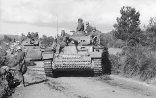 Panzer III's.