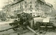 Pak Anti-Tank Gun 75mm in Budapest, 1945.