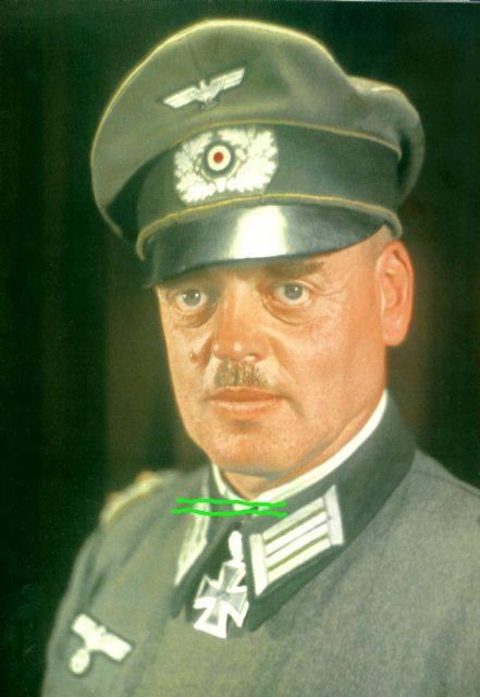 Generalleutnant Dietrich von Müller.