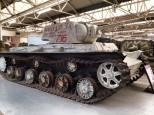 Soviet Armor at the The Bovington Tank Museum - England.