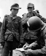 Korean Yang Kyoungjong Captured in Wehrmacht Uniform.