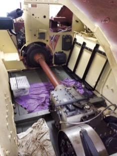 Hetzer being restored.