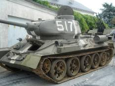 T-34 at the Musée des Blindés - Tank Museum - France.