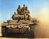 Panzer 3 of the Afrika Korps.