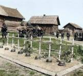 Eastern Front graves.