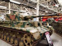 Panzer IV at the The Bovington Tank Museum - England.