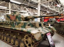 Panzer IV at the The Bovington Tank Museum - England.