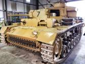 Panzer 3 at the The Bovington Tank Museum - England.