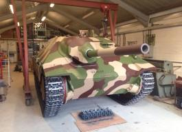 Hetzer after restoration.
