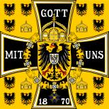 1888–1918 German Emperor's Standard.