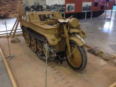 Sd.Kfz. 2 - Kettenkrad at the The Bovington Tank Museum - England.