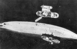 Tirpitz capsized.