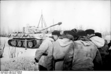 Tiger with Winter Camo Jan/Feb. 1944.