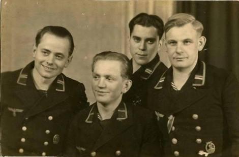 Kriegsmarine seamen.