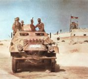 Afrika Korps on the move!