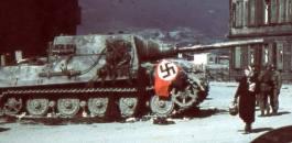 Knocked out Jagdtiger.