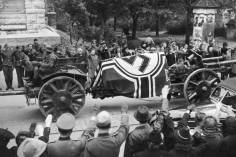 Rommel's funeral procession.