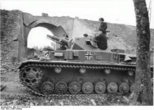 Panzer IV, 1940.