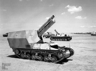 Grille Ausf. H captured in North Afrika.