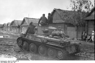 Panzer 38(t), Soviet Union, June 1941.