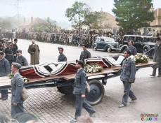 Britain honoring German war dead.