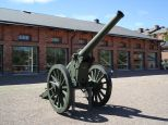 120 K 78-16 in front of the gun hall.