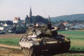 German Army Leopard 1A1.