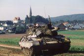 German Army Leopard 1A1.