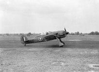 A captured Focke Wulf Fw 190A-3 at the Royal Aircraft Establishment.