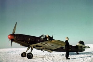 Messerschmitt Bf 109 F-4 of the Hungarian fighter squadron 5/2.