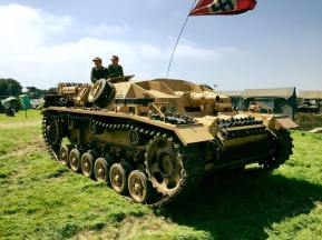 Jon Phillips' privately owned Stug III Ausf. D.