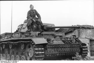 Panzer III Ausf. J, USSR, 1942.