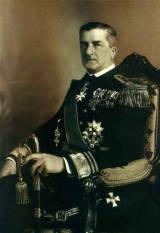 Miklós Horthy, Regent of Hungary.