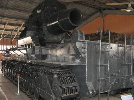 Karl-Gerät at the Kubinka Tank Museum, Russia.