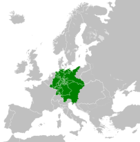 The German Confederation in 1815.