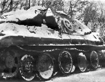 Panther disguised as an M10 Tank Destroyer.
