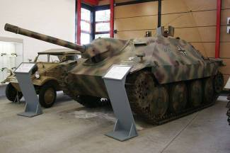 JPz 38(t) on display at the Deutsches Panzermuseum Munster, Germany.