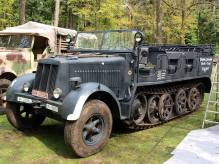 Sd.Kfz. 7 on Militracks 2010, Overloon.