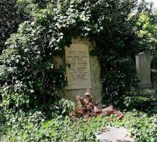 The grave in Heidelberg.