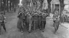 German prisoners caught at Friedrichsfeld by the U.S. 9th Army.