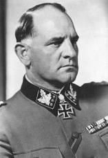 Sepp Dietrich as an SS-Oberst-Gruppenführer.