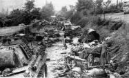 Destruction in the Falaise Pocket.