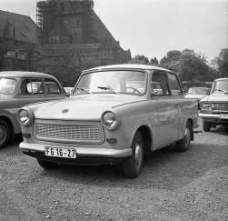 Communist economic staple: The Trabant automobile was a profitable product made in the German Democratic Republic (GDR).